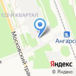 Аккурат на карте Ангарска