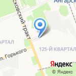 Усолье соль трейд на карте Ангарска