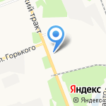 Корея Авто Ангарск на карте Ангарска