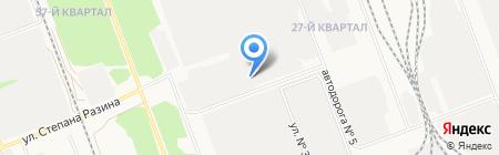 Электро-Холдинг на карте Ангарска