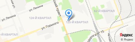 Стэл-Иркутск на карте Ангарска