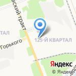 Статус-мед на карте Ангарска