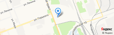 ONLINEPARTS на карте Ангарска