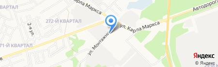 Гараж на карте Ангарска