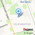Грандстрой на карте Ангарска