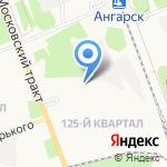 Стекломир на карте Ангарска