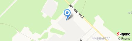 Торгово-производственная компания на карте Ангарска