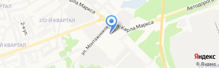 Восьмерочка на карте Ангарска