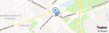 Мировые судьи г. Ангарска и Ангарского района на карте Ангарска
