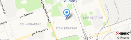 ЕвроМаркет на карте Ангарска