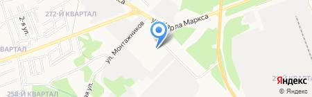 Сеть автомагазинов на карте Ангарска