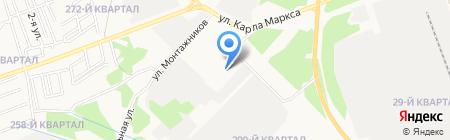 Ангарский технопарк на карте Ангарска