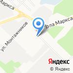 Компания по продаже рукавов высокого давления на карте Ангарска
