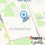 Новый дом на карте Ангарска