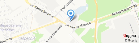 Байкал-АвтоТрак-Сервис на карте Ангарска