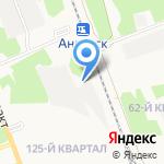 Фильтр на карте Ангарска