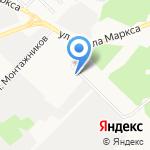 Все для УАЗ на карте Ангарска