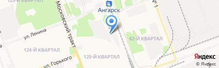 Компания Фильтр на карте Ангарска