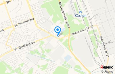 Местоположение на карте пункта техосмотра по адресу Иркутская обл, г Ангарск, пр-кт Карла Маркса, д 92
