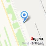 Столовая №4 на карте Ангарска