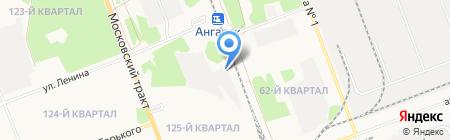 Грайф Пермь на карте Ангарска