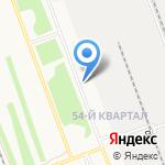 Ансол на карте Ангарска