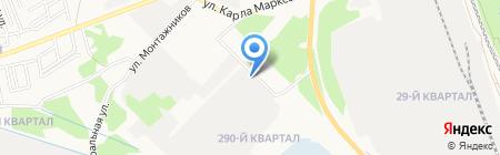 Экостар на карте Ангарска