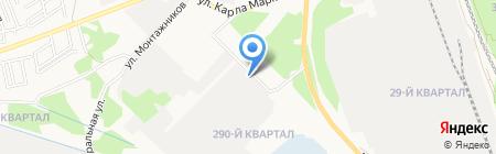 Банкомат Сбербанк России на карте Ангарска