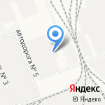 Иркутский Вторчермет на карте Ангарска
