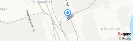 Полюс-М на карте Ангарска