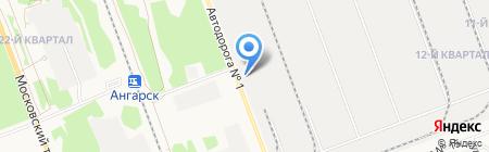 Автостекло на карте Ангарска
