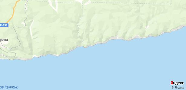 Шарыжалгай на карте