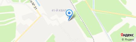 Иркутскэнергоремонт на карте Иркутска