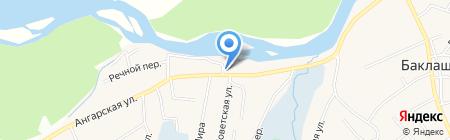 Четыре на карте Баклаш
