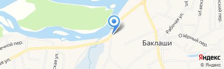 Славянка на карте Баклаш