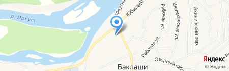 Средняя общеобразовательная школа им. В.А. Белобородова на карте Баклаш