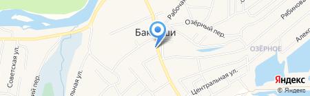 Айболит на карте Баклаш