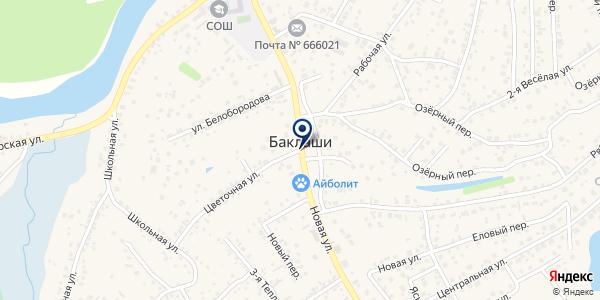 Флорист-Экспресс на карте Баклашах