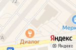 Схема проезда до компании Капитошка в Шелехове
