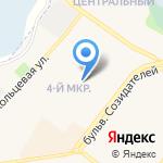 Алтынъ на карте Шелехова