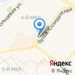 Магазин косметики и парфюмерии на карте Шелехова