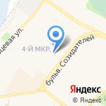 Тип-Топ на карте Шелехова