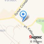 Автовышка Центр на карте Шелехова