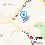 Сиблифткомплекс на карте Шелехова