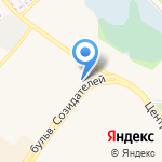Продуктовый магазин на карте Шелехова