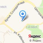 Магазин фруктов и овощей на карте Шелехова