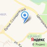 Средняя общеобразовательная школа №4 на карте Шелехова