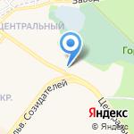 Центральная на карте Шелехова