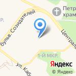 Колосок на карте Шелехова