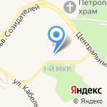 Ручеек на карте Шелехова